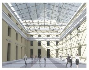 Архитектурная концепция регенерации и завершения ансамбля РЭМ и ГРМ