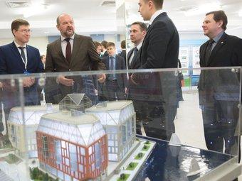 Губернатор Архангельска дал высокую оценку общественно-деловому центру DELTA
