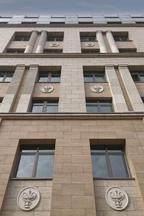 Многопрофильная клиника ВМедА (фасады и благоустройство)