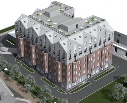 «Адамант» построит жилой комплекс в центре Петербурга