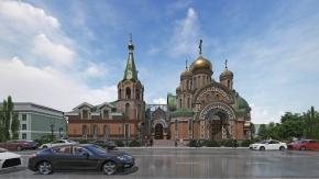 Храм на Крестовском о-ве