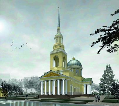 В Кронштадте планируется воссоздать Андреевский собор