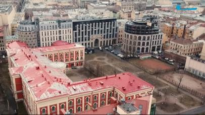 Застройка пешеходной ул.в 130 кв. Канал Санкт-Петербург