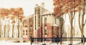 Коллекция проектов загородных жилых домов под Петербургом