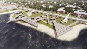 Конкурсный проект комфортной городской среды в г. Онега
