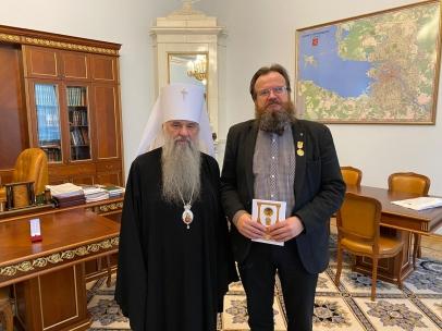 М.Мамошин награжден медалью апостола Петра