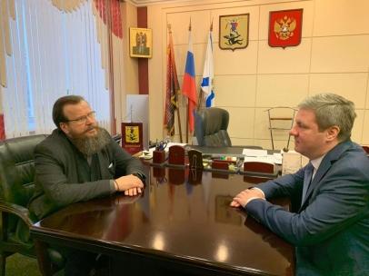 Встреча главы Архангельска с М.А. Мамошиным
