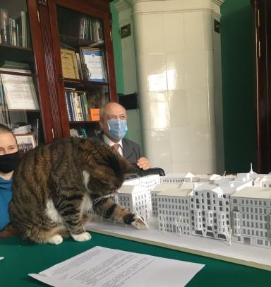 Рабочая группа КГИОП рассмотрела проект дома на 9-й Советской