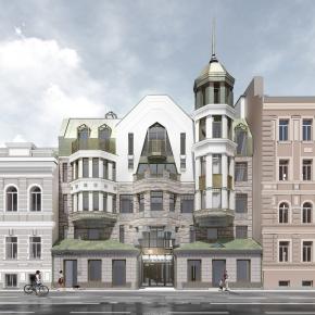 Многоквартирный жилой дом со встроенными помещениями